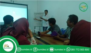 Kelas digital marketing desa