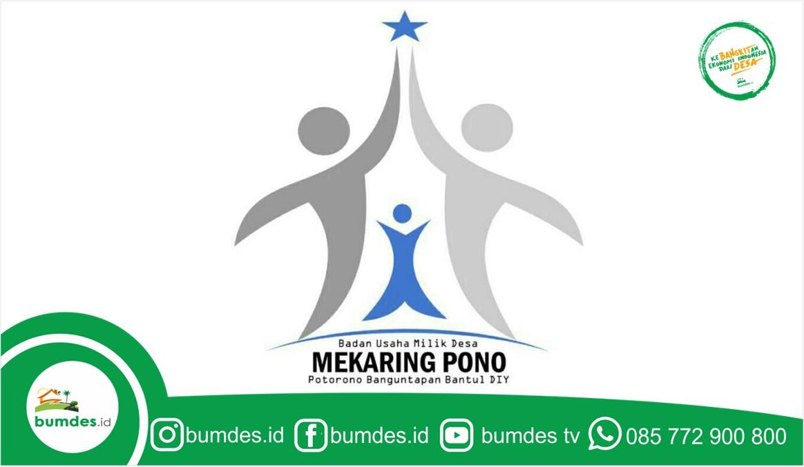 BUMDES Mekaring Pono Potorono Banguntapan Bantul DIY